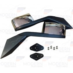 VOLVO HOOD MIRROR - Chrome